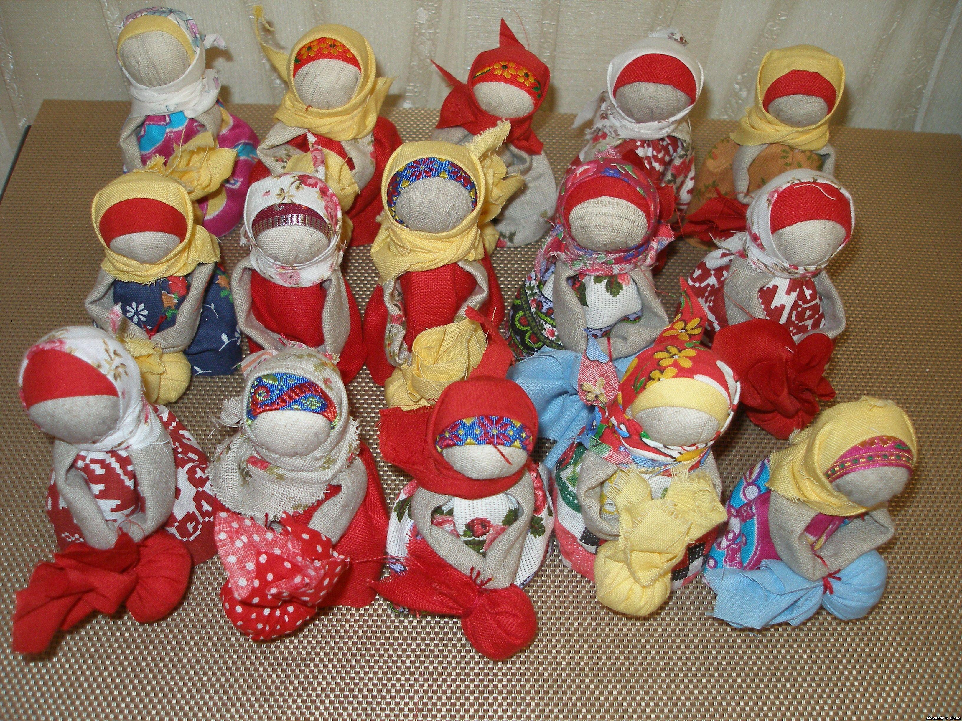 Тряпичные куклы-обереги своими руками